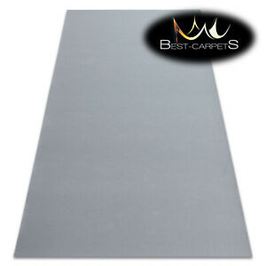 Anti Slip durable Rugs doormat RUMBA single colour GREY Any Size Best Quality