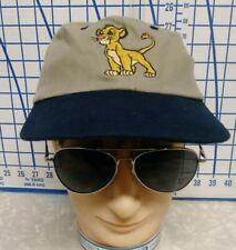 Vintage Disney channel glued tag promo The Lion King Unisex Dad Hat cap Simba
