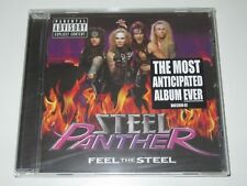 Steel Panther/FEEL THE STEEL (universal republic b0012849-02) CD ALBUM NEUF