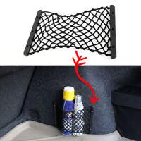 Car Rear Trunk Side Cargo Net Elastic Storage Mesh Fit Luggage Fire Extinguisher