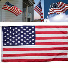 NEW Polyester US National Flag Stars Stripes Grommet 3'x5' Event Sports Souvenir
