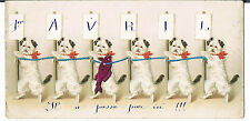 FOR DORA - SIX LITTLE DOGS PLEASE PASS THE FISH C1914