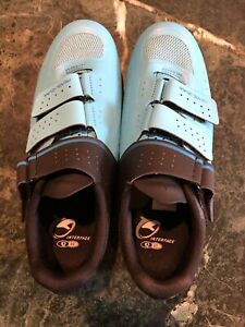 Pearl Izumi women's Select V5 cycling road shoe Eur 40 US.8.5 Blue/black