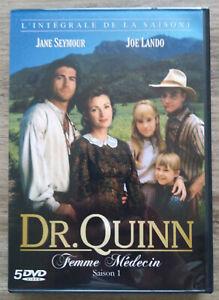 Coffret DVD Dr Quinn Femme Médecin Intégrale de la Saison 1