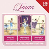 LAURA - LAURA-3-CD HÖRSPIELBOX VOL.1  3 CD NEW