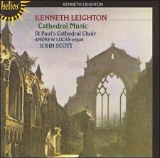 Kenneth Leighton Cathedral Music, St. Paul's Cathedral Choir; import CD + bonus!