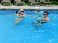 Drink N Noodle Pool Noodle Beverage Holders! Great for Boating & All Drinks