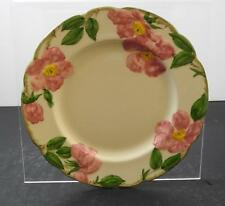 """Vintage Franciscan Desert Rose Pattern Hand Decorated 9 3/8"""" Luncheon Plates W1"""