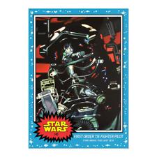 FIRST ORDER TIE FIGHTER PILOT - - 2020 Topps Star Wars Living Set - - Card #140