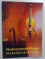 Führer durch das Musikinstrumenten-Museum Markneukirchen 1995 Instrumente Musik