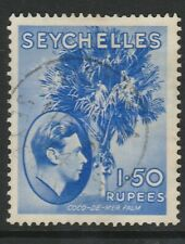 SEYCHELLES 1938 GVI SG147a ORD PAPER - USED CAT £16