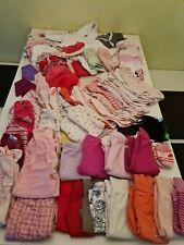 Süßes Babybekleidungspaket Mädchen 63 Teile Gr. 62/68
