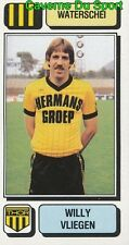305 WILLY VLIEGEN BELGIQUE WATERSCHEI STICKER FOOTBALL 1983 PANINI