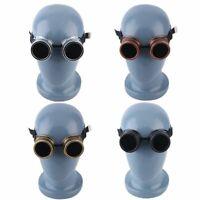 Fashion Cyber Goggles Steampunk Glasses Vintage Welding Punk Gothic Victorian JL