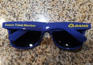 Los Angeles LA Rams 2021 Training Camp Season Ticket Member Blue Sunglasses SGA