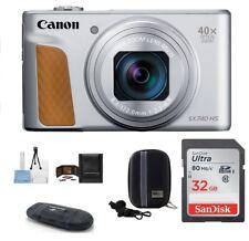 Canon PowerShot SX740 HS Digital Camera 32GB Bundle (Silver) Authorized Dealer!