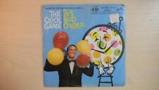 RARE RCA Victor Bluebird Records THE CLOCK GAME TV's Bud Collyer 45 rpm 50s