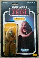 1983 Bib Fortuna Complete Vintage Star Wars ROTJ Kenner Original Accessories