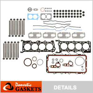 Fits 95-04 Ford Mustang Lincoln Continental Mark VIII 4.6L Full Gasket Set Bolts