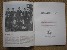 TORINO A.C. TORO SQUADRA 1908 CALCIO QUADERNO PIGNA IL PALLONE D'ORO