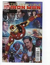 Invincible Iron Man # 527 Variant Cover Marvel NM