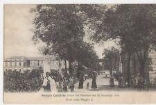 Italy, Reggio Calabria, Disastro del 1908 Viale sulla Reggio C. Postcard, B408