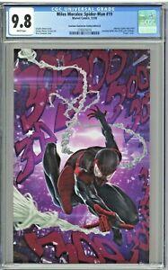 Miles Morales Spider-Man 19 CGC 9.8 Sanctum Santorum Edition B Skan Virgin Cover
