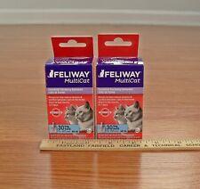 Set of 2~Feliway Multicat Cat Diffuser Refills~2 x 30 Day Refills For 60 Days