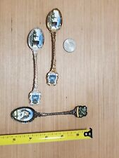 Öland Hand Painted Spoons! LOT! (3) Oland - European, Dutch spoons! Antique