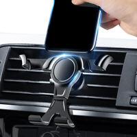 Black Gravity Car Accessories Bracket Smart Phone Holder Air Vent Navi Mount