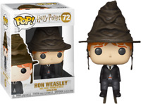 Harry Potter - Ron Weasley with Sorting Hat Funko Pop Vinyl New in Mint Box