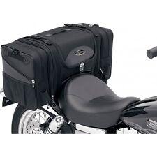 Saddlemen TS3200DE Deluxe Motorcycle Tail Sissy Bar Bag Harley Honda Yamaha