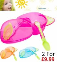 Vital Baby On the Go Weaning Set - Pink, Blue or Orange Baby Weaning Kit