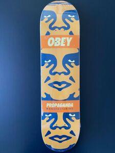 Shepard Fairey 3 Face Deck 2000 Giant Obey Skate Rare Poster Skateboard