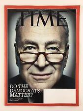Time Magazine 2/20/2017 Senator Chuck Schumer Do the Democrats Matter?