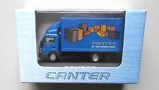 BLUE MITSUBISHI FUSO DELIVERY VAN TRUCK CANTER MINIATURE 1/87 Mini HO Scale