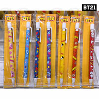 BTS BT21 Official Authentic Goods Sharp Pencil Snack Ver 7SET + Tracking Number
