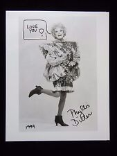 Phyllis Diller Autograph - Hand Signed 8x10 Photo - Authentic!
