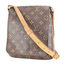 Authentic LOUIS VUITTON Musette Salsa Monogram Cross Body Shoulder Bag #35767