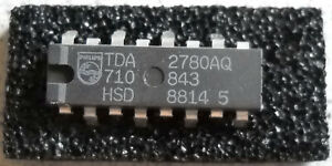 IC TDA2780AQ TV VA System, 1 Stück NOS, Philips