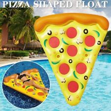Inflatable Pizza Slice Float Raft Huge Floating Swimming Pool Beach Water Toy