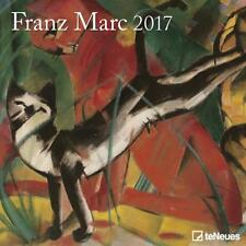 CALENDRIER 2017 - FRANZ MARC - 30 x 30 cm
