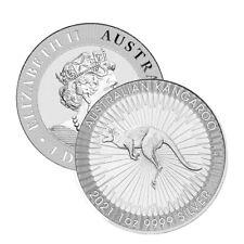 2021 Silver $1 Australia 1 Troy Oz .9999 Fine Silver Perth Kangaroo Coin
