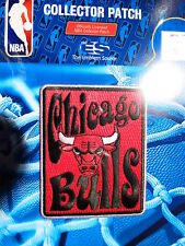 "Official Licensed NBA Chicago Bulls  ""Groovy"" Fan Iron or Sew On Patch"