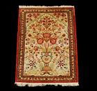 Silk Tappeto Carpet Tapis Teppich Alfombra Rug Tapiet 73x58 CM
