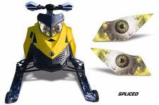 AMR Racing Ski Doo Rev XP Summit Sled Snowmobile Headlight Eye Kit 08-12 SPLCE Y