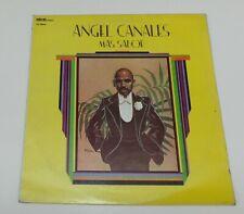 ANGEL CANALES MAS SABOR LP VINYL USA 33 RPM 1977