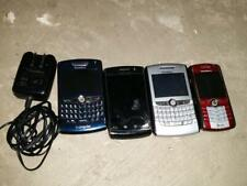 Lot of 4 Blackberry Cell Phones *Parts Repair Untested* Different Carriers
