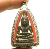 TIGER FACE LERSI HERMIT REAL THAI AMULET STRONG LIFE PROTECTION POWERFUL PENDANT