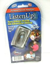 LISTEN UP PERSONAL SOUND AMPLIFIER AS SEEN ON TV HEARING DEVICE